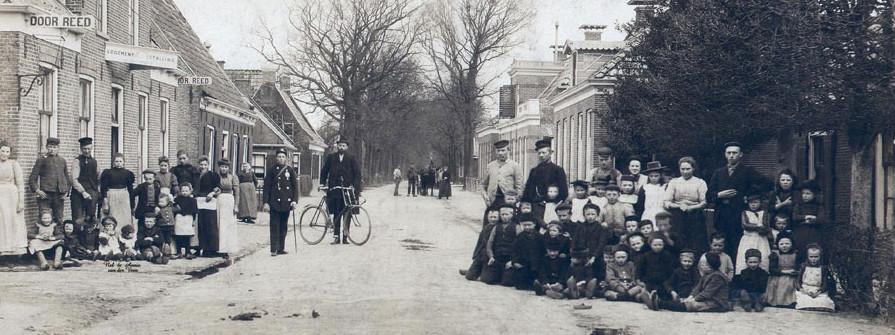 Twijzel rond 1900 (Bron: www.Plaats.nl)